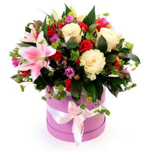"""Цветы в коробке """"Корона"""""""