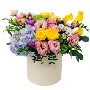 """Цветы в коробке """"Начало"""""""