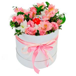 """Цветы в коробке """"Примавера"""""""